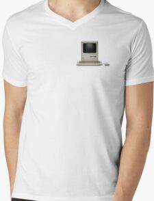 Apple Macintosh Mens V-Neck T-Shirt