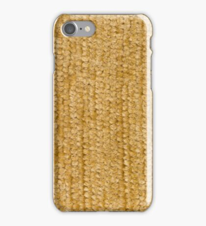 Yellow fabric iPhone Case/Skin