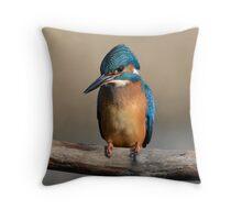 Kingfisher - VII Throw Pillow
