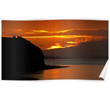 Severn Sunset Poster