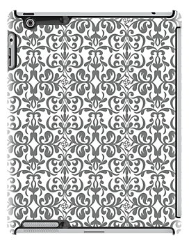 Design in Silver .. iPad case by LoneAngel