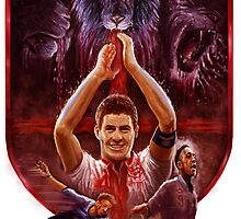 Three Lions by Sunil Kainth