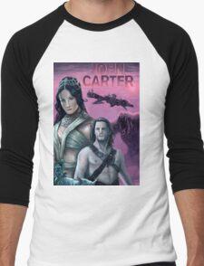John Carter Men's Baseball ¾ T-Shirt