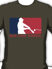Major League Blernsball (MLB / Futurama parody) T-Shirt