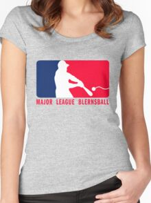 Major League Blernsball (MLB / Futurama parody) Women's Fitted Scoop T-Shirt