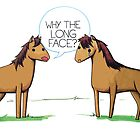 Why the long face? by cheezup