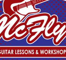 McFly's Guitar Workshop Sticker