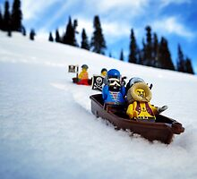 Pirates like sledding by bricksailboat