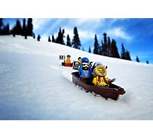Pirates like sledding Photographic Print