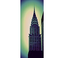 Chrysler Building - Angular Crop Photographic Print