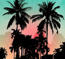 Palm Trees by motiashkar