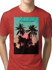 Palm Trees Tri-blend T-Shirt