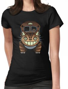 NEKO-BOT Womens Fitted T-Shirt