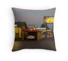 Lincoln Motel Reception  Throw Pillow