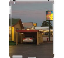 Lincoln Motel Reception  iPad Case/Skin