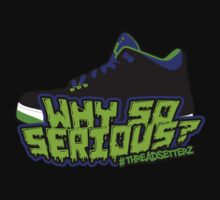 Why So Serious? Joker 3 Edition T-Shirt