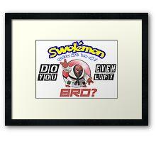 Pokemon - Do You Even Lift Bro? Framed Print