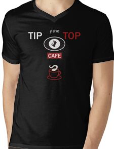 Tip Top Cafe from Groundhog Day Mens V-Neck T-Shirt