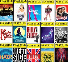 Broadway Playbill Palooza by peasandkaris