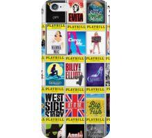 Broadway Playbill Palooza iPhone Case/Skin