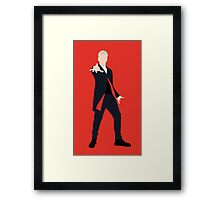 12th Doctor Peter Capaldi Framed Print