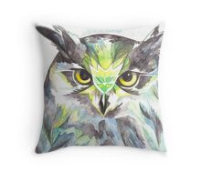 Dreamy Owl Throw Pillow