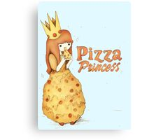 Pizza Princess - Adventure Time Style  Canvas Print