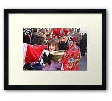 Chinese New Year London  2014 Framed Print