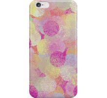 Blurred Trendy Circles iPhone Case/Skin