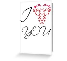 Chemical Connection White Greeting Card
