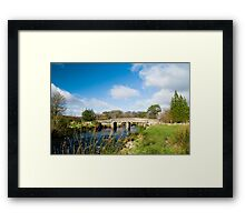 Postbridge Clapper Bridge Framed Print