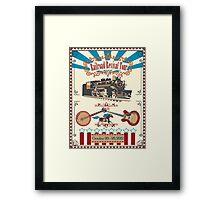 Railroad Revival Tour 2012 Framed Print