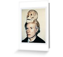 Andy Warhol Polaroid Greeting Card