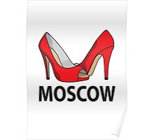 Moscow fashion  Poster
