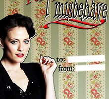 Irene Adler Valentine's Day Card - Misbehave II by thescudders