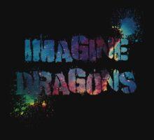 Imagine Dragons Splatter by teecup