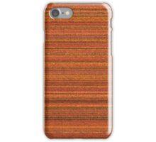 Orange vinyl texture iPhone Case/Skin