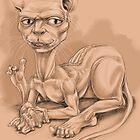 Cat-Man Dude by JamesAgpalza