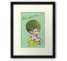 Chibi Midorin ~ Framed Print