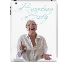 Elaine Stritch - Broadway Baby iPad Case/Skin