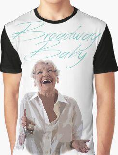 Elaine Stritch - Broadway Baby Graphic T-Shirt