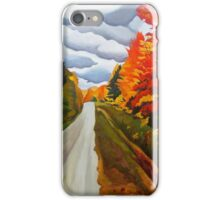 "115. ""Tunnel of Trees, Michigan."" iPhone Case/Skin"