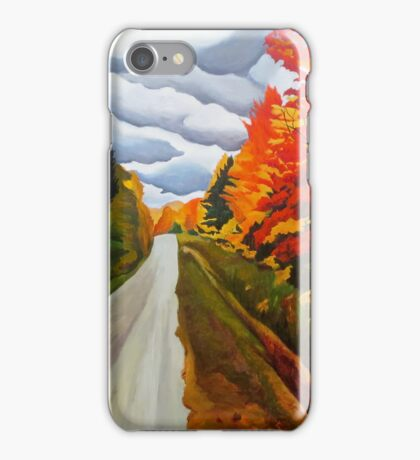 """115. """"Tunnel of Trees, Michigan."""" iPhone Case/Skin"""