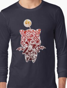 Final Fantasy Moogle-verse (red) Long Sleeve T-Shirt