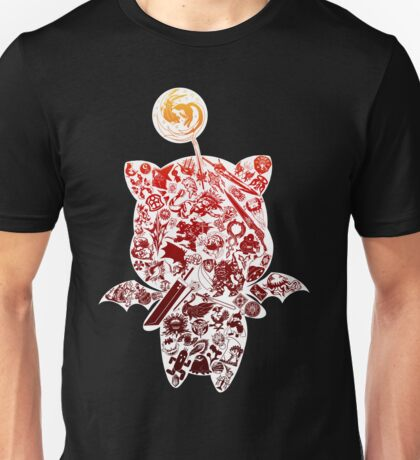 Final Fantasy Moogle-verse (red) Unisex T-Shirt