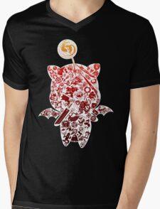 Final Fantasy Moogle-verse (red) Mens V-Neck T-Shirt