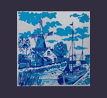 Delft tile print Unisex T-Shirt