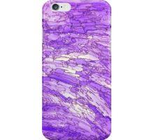 Purple Basalt iPhone Case/Skin