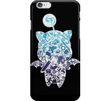 Final Fantasy Moogle-verse (blue) iPhone Case/Skin