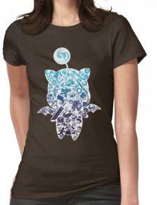 Final Fantasy Moogle-verse (blue) Womens Fitted T-Shirt